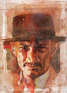 The Bad - Lee Van Cleef by Bill Sienkiewicz *