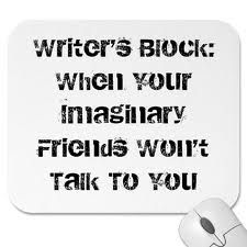 Writers Block claims us all at one point or another. All we can do is fight against it! And Google pictures of it.