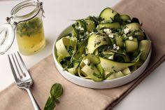 Zucchini Carpaccio with Herbs