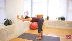"""If """"ugh"""" pretty much sums up the way your shoulders and back feel by the end of the day, try this simple variation of Downward-Facing Dog."""