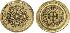 NumisBids: Nomisma Spa Auction 50, Lot 110 : LUCCA I Longobardi – Monetazione anonima (circa 650-749) Tremisse...