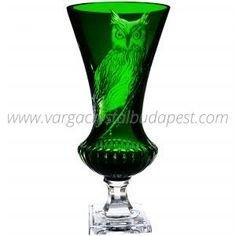 One of a Kind OWL green Vase 3600€