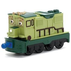 This is a stacktrack named, Dunbar. An iconic train character in the Chuggington children's train series. All the materials used to craft Dunbar are high quality materials, all of which are die casts. The wheels and train car performs exceptionally.