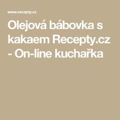 Olejová bábovka s kakaem Recepty.cz - On-line kuchařka