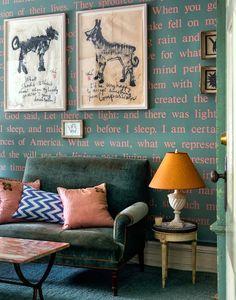 Cool Chic Style Attitude: Decor inspiration : Sheila Bridges in the Harlem apartment