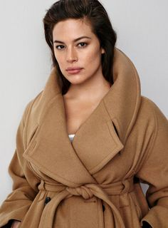Pin for Later: Showing Off H&M's Fall Looks, Ashley Graham Might Just Convince You to Start Wearing Hats, Among Other Things