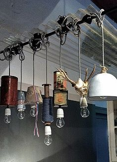 industrial lighting...