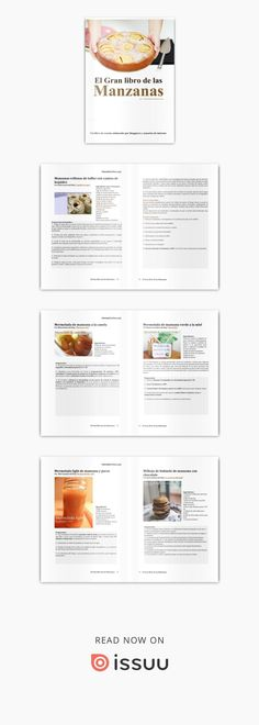 Issuu is a digital publishing platform that makes it simple to publish magazines, catalogs, newspapers, books, and more online. Easily share your publications and get them in front of Issuu's millions of monthly readers. Title: El gran libro de las manzanas, Author: Quecocino.net -, Name: El gran libro de las manzanas, Length: 184 pages, Page: 1, Published: 2013-01-23