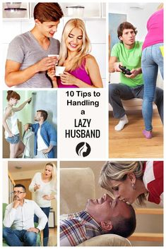 How to deal with lazy husband?