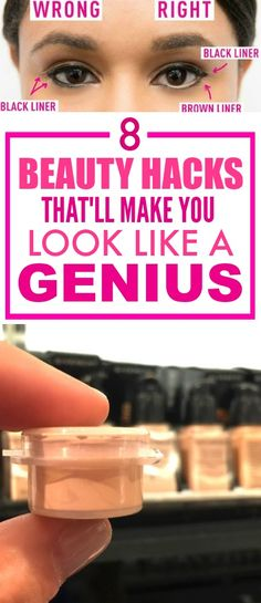 These 8 brilliant beauty hacks are THE BEST! I'm so glad I found this GREATpost! These have definitely saved me time AND money! I'm DEFINITELY pinning for later!