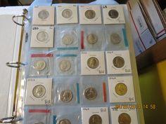 A Uncirculated Set of 1965 to 2009 Washington Quarters!!