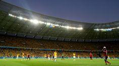 Quarter Final match Brazil vs Colombia at Estadio Castelao