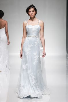 Sophia wedding gown by Madeline Isaac-James in baby blue.