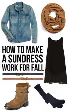 How to Make a Sundress Work for Fall