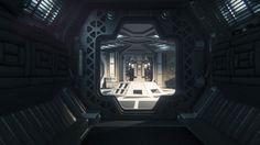 Alien Isolation - Lighting by Ben Hutchings on ArtStation.