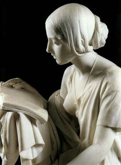 The Reading Girl by Pietro Magni | Blouin Art Sales Index