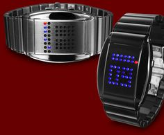 Tokyoflash R75 LED Watch - with binary  display