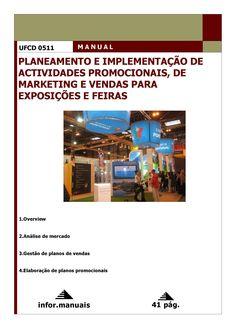 0511. Planeamento e implementação de act promocionais, de mkt e vendas para exposições e feiras