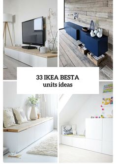 Ikea Besta units in the interior design creatively integr .- Ikea Besta Einheiten in die Inneneinrichtung kreativ integrieren Ikea Besta creatively integrate units into the interior - Ikea Furniture, Home And Living, Interior Design, Ikea, Home, Interior, Home Diy, Ikea Diy, Home Decor