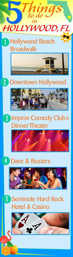Five Things To Do In Hollywood Florida! Hollywood Florida is a great place to…