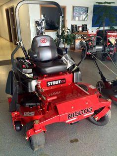 big dog lawn mower