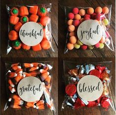 Thanksgiving favors, stickers and bags, set of Thankful Grateful Joyful Blessed, Matte white, Kr - Thanksgiving Design Thanksgiving Favors, Thanksgiving Parties, Thanksgiving Recipes, Thanksgiving Punch, Thanksgiving Prayer, Thanksgiving Outfit, Thanksgiving Decorations, Fall Recipes, Peru