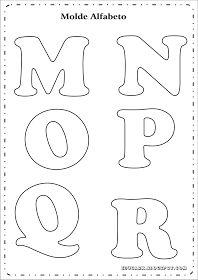 modelo de cartas para el cartel MNOPQR