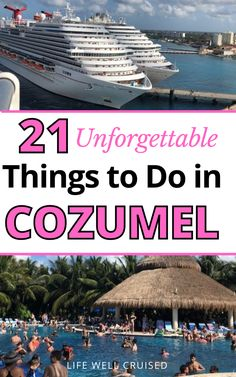 Going on a Caribbean Cruise and visiting beautiful Cozumel? This article is full of cruise and travel tips for Cozumel - what to do in Cozumel, best attractions and things to do and see in Cozumel cruise port.