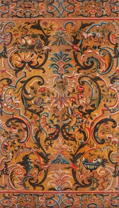 Kunsthandel Glass :: Gilt Leather Wall hangings from 4 centuries ::