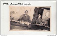 1923 - AU BUREAU - PHOTO MILITAIRE 10.5 X 6.5 CM