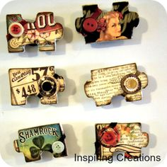 20 awesome Mod Podge recycled crafts. - Mod Podge Rocks