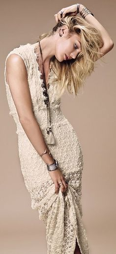 Candice Swanepoel for Free Peoples Catalogue July 2014.