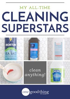 "My All-Time ""Superstar"" Cleaning Ingredients - One Good Thing by Jillee"