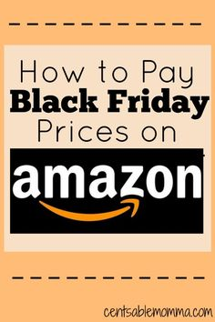 Did you know that Amazon frequently matches Black Friday prices during the week of Thanksgiving? They do, and you can find out 5 tips for how to pay Black Friday prices on Amazon so you can save both time and money on your Christmas shopping.