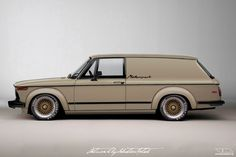 BMW 2002 Turbo Panel Wagon Concept   Photoshop Chop by Sebastian Motsch (2016)