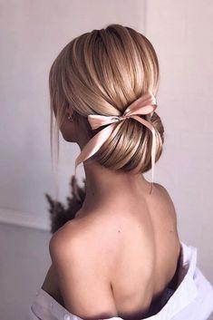 Loose Hairstyles, Bride Hairstyles, Korean Hairstyles, Japanese Hairstyles, Short Bridesmaid Hairstyles, Redhead Hairstyles, Saree Hairstyles, Hairstyles Pictures, Simple Hairstyles
