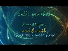 Wish That You Were Here [Lyrics] HD - Florence & The Machine - YouTube