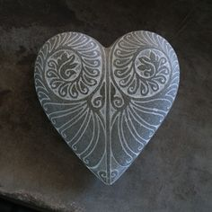 This stunning stone heart is part of our stylish cement range of home decor.