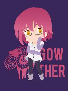"""Gowther - Nanatsu no Taizai"" by GinHans | Redbubble"