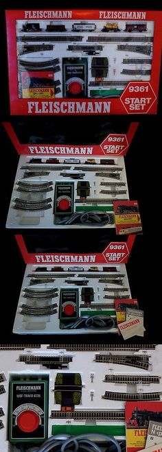 Starter Sets and Packs 22547: Fleischmann Piccolo Vintage Train #9361 Start Set - N Scale - New In Box -> BUY IT NOW ONLY: $169 on eBay!