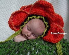 Original design Baby girl boy Amaryllis Lily flower by May22