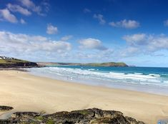 Polzeath Beach, Cornwall. I grew up with this beach just a short drive away. Heaven
