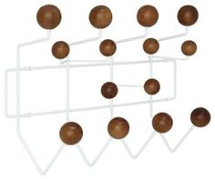 Bright and colorful, the Gumball Coat Rack picks up where the Ball Clock leaves off. Perfect from those energetic rooms filled with exuberance and energy, each