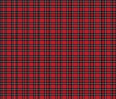 Royal Stewart Tartan fabric, wallpaper or wrapping paper,  by lilyoake on Spoonflower - custom fabric