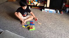 2.5 yr old Moksh knows how to solve a Geometrical Stacking Puzzle
