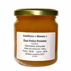 Confiture Pomme-Poire aux Épices - Made in Calvados