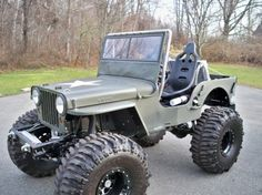 Jeep with Boggers