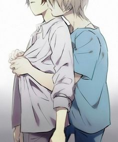 Slaine and Inaho | Aldnoah.Zero