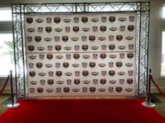 Step and Repeat Back drop #banner we did for a bar mitzvah www.speedproeastpa.com