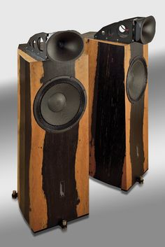 Altec 601-8D speaker and Acousti-craft cabinet Back of the ...
